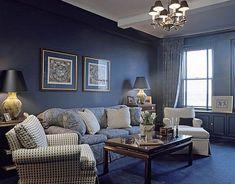 Blue Living Room Decorating Ideas