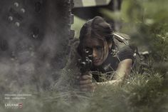 Point of sight by Konstantin Lelyak, via 500px #girl with a #gun