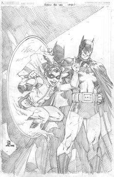 Batman Show, Batman Art, Jim Lee Superman, Robin, Jim Lee Art, Art Simple, Bristol Board, Realistic Drawings, Art Drawings