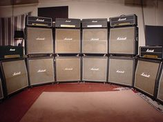 marshall amps | Vintage Marshall Amps ~ I Love You To The Moon & Back ~  ♪  ♫ @SweetDelight7 ♫ ♪