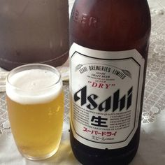 アサヒ大瓶ビール