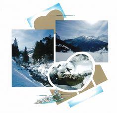Lumière & neige par Anne Bladt-Dussart  #azza #loisirs #créatifs #hiver