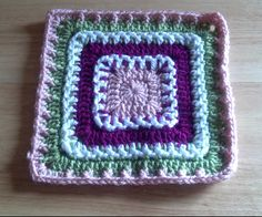 Ravelry: Project Gallery for Eyelet Lace Square pattern by Chris Simon