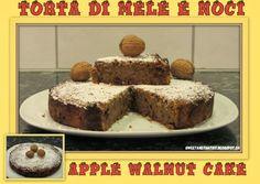 Sweet and That's it: Apple Walnut Cake - Torta alle Mele e Noci Walnut Cake, Your Recipe, Mondays, Banana Bread, Yummy Food, Apple, Baking, Sweet, Desserts
