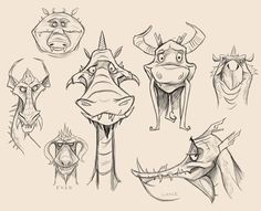 dragon drawing ideas