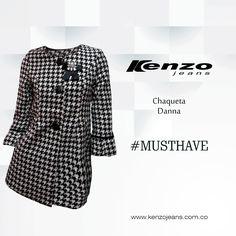 Un buen abrigo te permite realizar combinaciones infinitas con el outfit que lleves para la ocasión #MustHave #KenzoJeans  Conoce más en www.kenzojeans.com.co