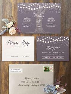 Invitationer til brylluppet - ChriChri