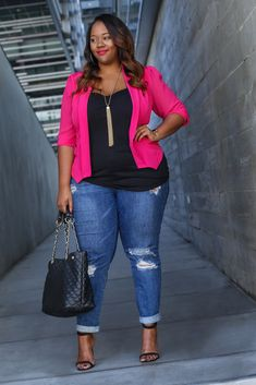 Valentine's Day Inspiration from Kristine of Trendy Curvy