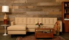 Treat Sofa Pictured as Chaise and Sofa Sectional in Beehive Notion - Harrington Galleries