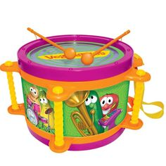 Veggie Toy Drum