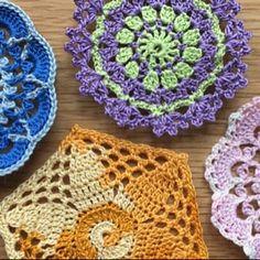 Crochet coaster PATTERN Crochet home decor pattern Mosaic Stitch Crochet, Crochet Diy, Unique Crochet, Chunky Crochet, Crochet Ruffle, Crochet Gifts, Blanket Crochet, Ruffle Scarf, Diy Scarf