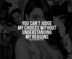 Don't judge.