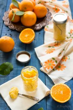 Frabisa cuisine: How to make Curd Orange-Orange Cream - Just 6 Ingredients!  Use a low glycemic sweetener and coconut oil if needed.  YUM!