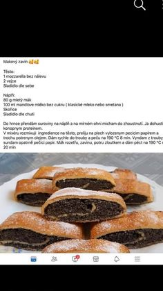 Low Carb Diet, Mozzarella, Diet Recipes, Sweet Tooth, Breakfast, Diet, Poppy, Morning Coffee, Skinny Recipes