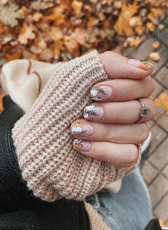 Classy Nail Designs, Short Nail Designs, Nail Art Designs, Classy Nails, Stylish Nails, Trendy Nails, Dream Nails, Love Nails, Nails Ideias