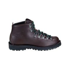 "Danner Mountain Light II 5"" Womens 30800 Brown Waterproof Hiking Boots Size 10"