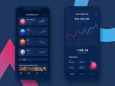 Trading App designed by Iftikhar Shaikh for Green illumination. Connect with them on Dribbble; the global community for designers and creative professionals. Dashboard App, Dashboard Design, App Ui Design, Mobile App Design, Interface Design, Design Web, Mobile Ui, Ios App, Layout Design