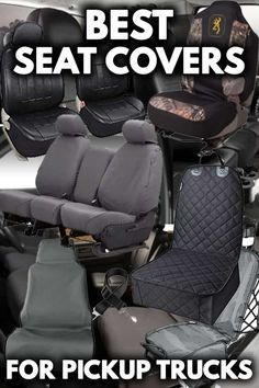 Poly-Cotton, Gray Fia SP88-24 GRAY Custom Fit Front Seat Cover Bucket Seats