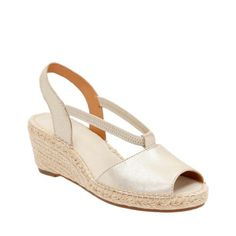 1027abccb68 Petrina Lulu Gold Leather womens-wedges Espadrille Sandals
