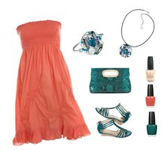 """""""Summer time avec So Fantasy Aril"""" by bijouxdelooty on Polyvore"""