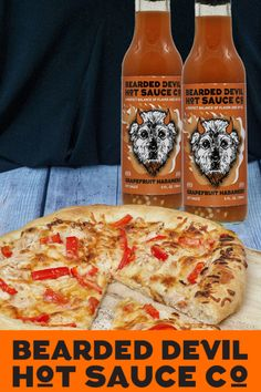 Bearded Devil Hot Sauce Co - Grapefruit Habanero, 5 oz (Pack of 2 bottles)- Small batch & local, Vegan, Gluten Free, No Preservatives Spicy Recipes, Gourmet Recipes, Vegetarian Recipes, Healthy Recipes, Gluten Free Sauces, Vegan Sauces, Spicy Sauce, Vegan Soup, Going Vegan