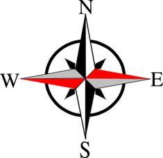 East West Compass Ten clip art - vector clip art online, royalty free & public domain