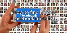My Hidden Friends On Facebook Facebook Android, Delete Facebook, Facebook Users, Friends List, Best Friends, Google Chrome Web Browser, Social Media Site, Data Visualization