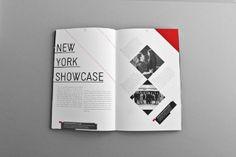 MagSpreads - Diseño Diseños Revista e inspiración Editorial: Nueva Escuela Mundial de la Revista Artes