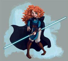 Disney Princess Jedi Merida!