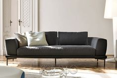 Marc-U Sofa with Four Loose Pillows (included) by Bonaldo