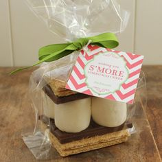 24 S'mores Holiday Gift Kits  Chevron Design  by thefavorbox, $36.00