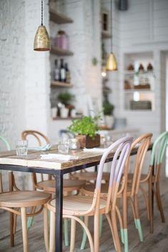 Mesas para refeição