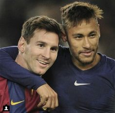 Leo and Neymar see the game so clearly it's fricken amazing!