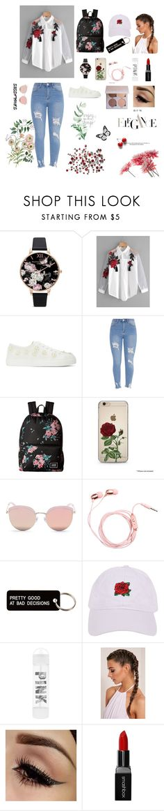 """Elegant Style"" by senadasisic on Polyvore featuring Olivia Burton, Simone Rocha, Vans, Stephane + Christian, Various Projects, Armitage Avenue, Victoria's Secret and Smashbox"
