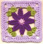 Daisy Square.. Free pattern!
