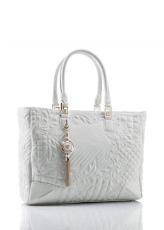 3b59211dcb34 Vanitas Elettra Quilted Tote from Versace Women s Collection. Elettra from  the