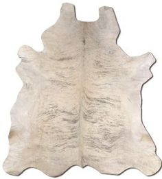 light brindle cow hide rug