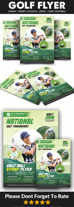 23 best golf flyer templates images on pinterest in 2018 event