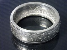 Coin Ring Jewelry Morgan Silver Dollar Choose by TheCoinSmith