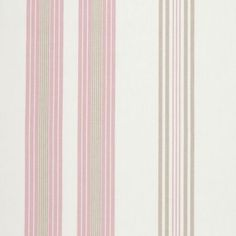 Lulu Stripe - Taupe fabric, from the Modern Classics collection by Studio G