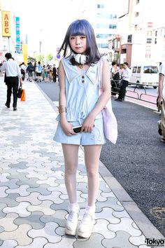 Pastel-loving Harajuku Girl w/ Katie Fashion Tokyo Bopper Cute Pastel Katie Fashion in Harajuku – Tokyo Fashion News