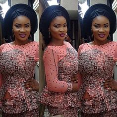 Best Latest Aso Ebi Styles  For Wedding Guests | Maboplus http://maboplus.com/best-latest-aso-ebi-styles-for-wedding-guests/