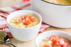 Recipe: Hearty Skinny Cheeseburger Soup
