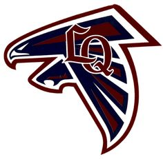 La Quinta High School Blackhawks logo - La Quinta, Ca. Hot Springs, Palm Springs, Football Nails, Rancho Mirage, Cathedral City, Coachella Valley, Palm Desert, Banquet, Tattos
