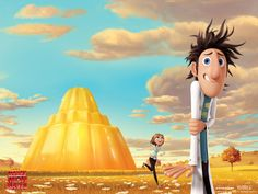 Watch Streaming HD Cloudy With A Chance Of Meatballs, starring Anna Faris, Bill Hader, Bruce Campbell, James Caan. The most delicious event since macaroni met cheese. Inspired by the beloved children's book, the film focuses on a town where food falls from the sky like rain. #Animation #Comedy #Family #Fantasy http://play.theatrr.com/play.php?movie=0844471