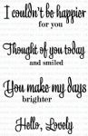 Happy for You Mini Stamp Set
