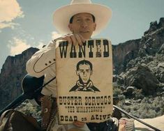The Ballad of Buster Scruggs Trailer Netflix has released the second movie trailer for The Ballad of Buster Scruggs Netflix Original Movies, Netflix Movies, Movie Tv, Movies To Watch, Good Movies, Westerns, Coen Brothers, Netflix Releases, Movies