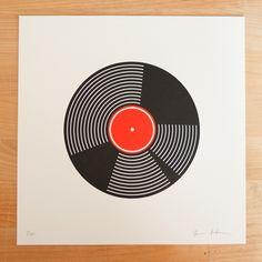 Vinyl / Record artwork. #music #records #vinyl http://www.pinterest.com/TheHitman14/for-the-record/