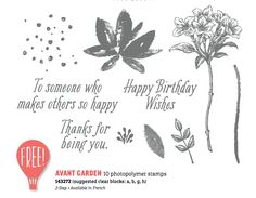 Image result for avant garden stampin up