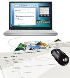 Un nuovo aiuto per alunni con DSA: LG Mouse Scanner